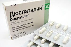 Duspatalin панкреатит