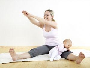 Гимнастика после родов, для восстановления и похудания живота