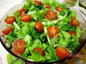 Zelena salata sa pankreatitisa