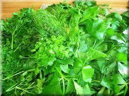 Какую зелень можно при панкреатите?