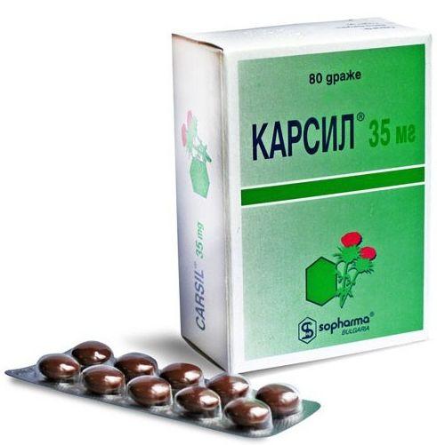 Karsil панкреатит
