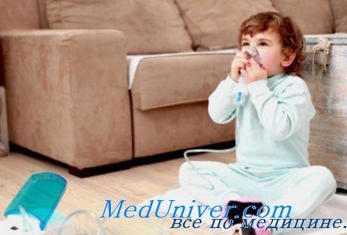 Третман на егзацербација на астма кај децата во домот