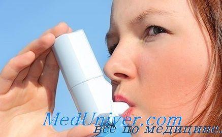 Лекарства для снятия приступа бронхиальной астмы у детей. Неотложная помощь при астме
