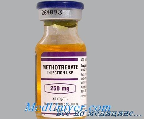 Метотрексат при ревматических болезнях у детей