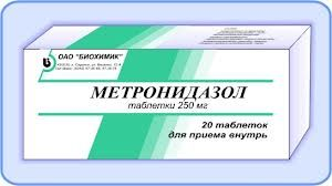 метронидазол панкреатит