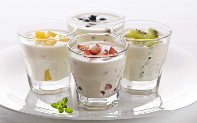 Јогурт со dysbacteriosis