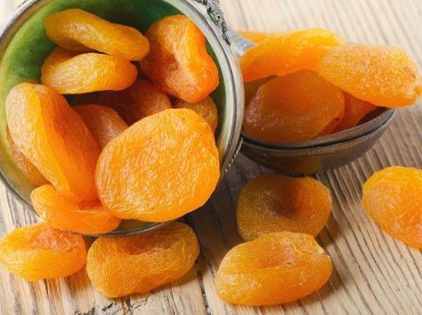 Sušené meruňky na gastritidu