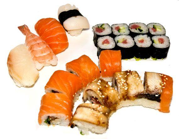 Можно ли при панкреатите суши (сушки) и роллы?