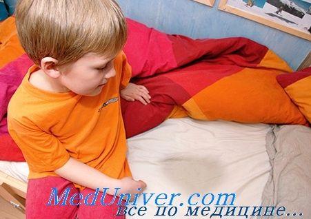 Ночной энурез у детей. Причины
