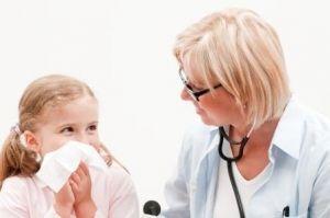 Носовые кровотечения у детей, причины, лечение