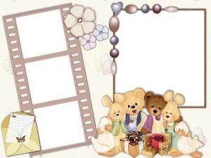 Организуйте фотографии ребенка