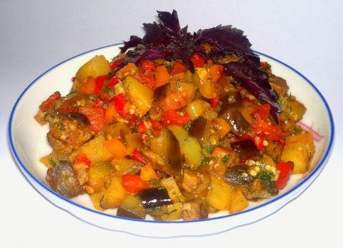Tocană de legume cu pancreatită
