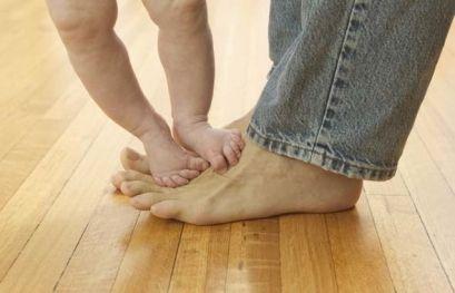 Положение нижней конечности у детей
