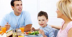 Помогите вашей семье правильно питаться