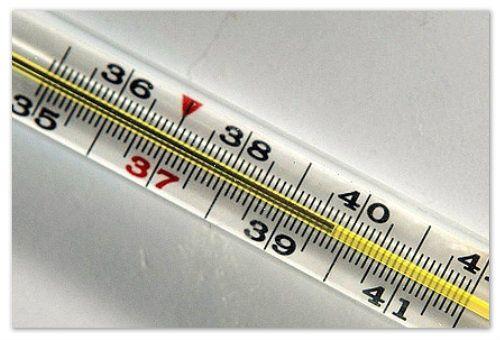 Понос и температура 39
