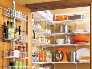 Правильная организация шкафов для продуктов питания