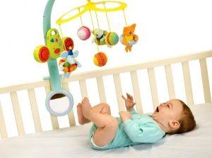 Развивающие игры для новорожденного ребенка