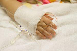 Ребенок попал в больницу
