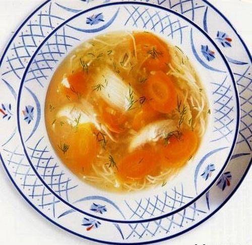 Pileća juha s pankreatitisom