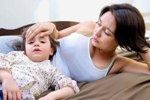 Ребенку год - понос, рвота, температура