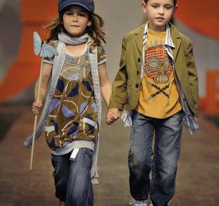 Детская стильная джинсовая одежда от