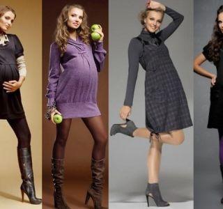 Фасоны одежды для беременных: что носить будущим мамам. Подбираем одежду для будущей мамы! Одежда для будущих мам