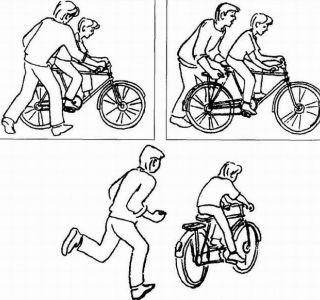 Как научить ребенка крутить педали правильно?первое время родителям придется иногда подталкивать велосипед на прогулке, помогать выбраться из ямки на дороге.