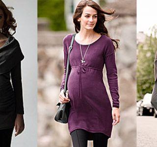 Moda za trudnice. Fotografija. Udobna odjeća i obuća za trudnice