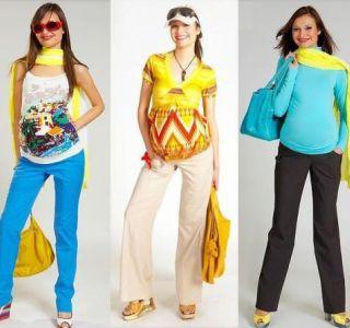 Prave hlače za nosečnica. Nasveti za izbiro oblačil za nosečnica. Smo izbrali oblačila za nosečnice