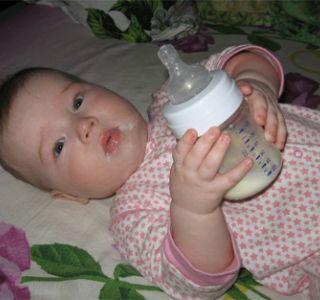 Выбираем адаптированную молочную смесь?