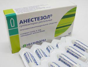 Свеќи од хемороиди Anestezol