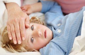 Температурные судороги у детей
