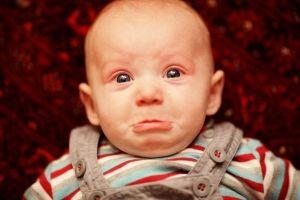 Тихие горькие слезы у ребенка