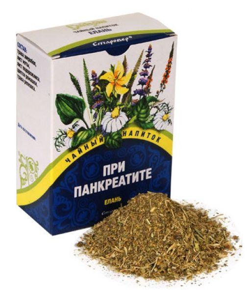 Bylinný čaj s pankreatitidou