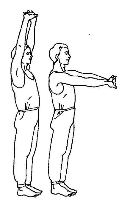 Упражнения для плечевого пояса (Упражнение 2)