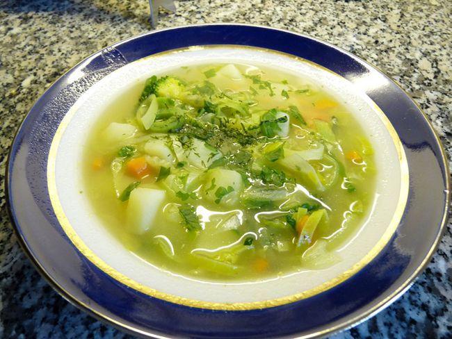 Supe vegetariene pancreatită, rețete
