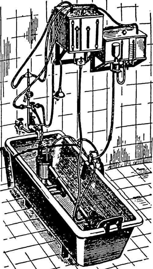 Апарат за подводни цревна лаважа (& amp; laquo-APKP & amp; raquo-) во собраа форма