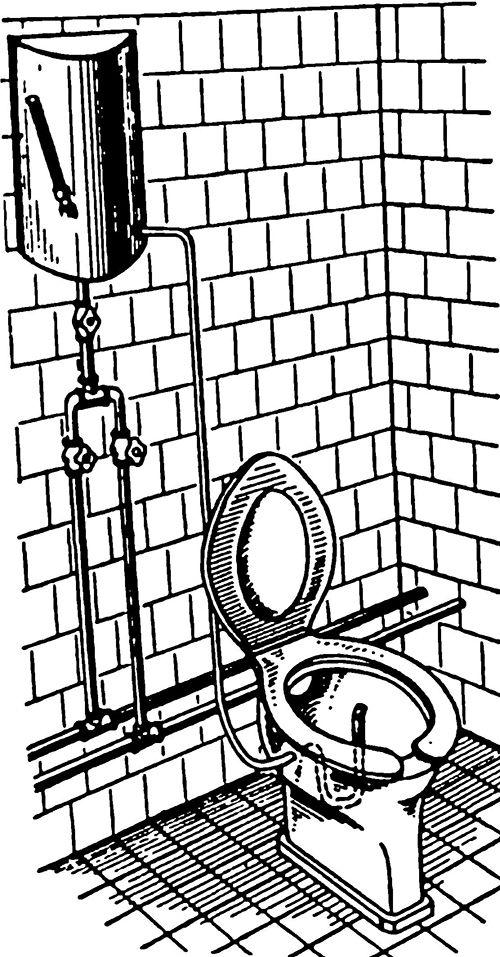 Уред за перење на дебелото црево на столица