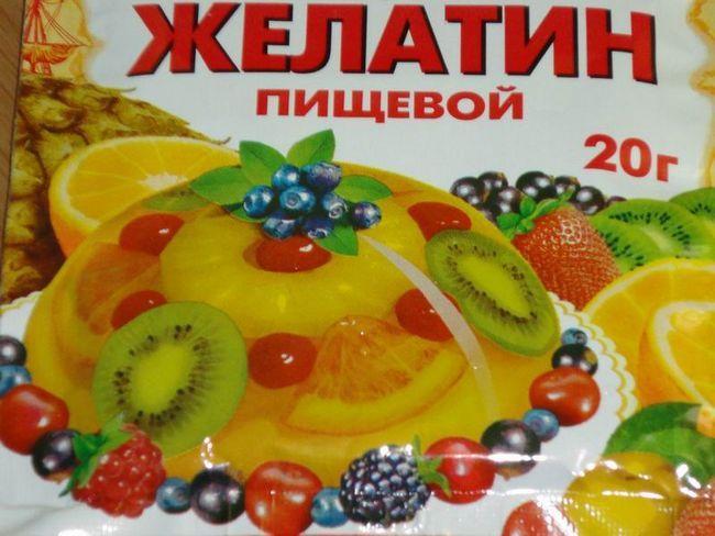 Желатин со панкреатитис