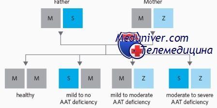 Genetika pomanjkanje alfa-1-antitripsina (a1-AT)